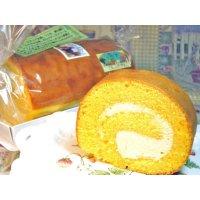 レアチーズロール (レアチーズのロールケーキ)