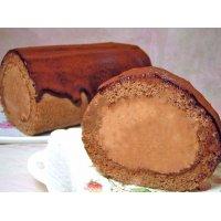 チョコレートロール (チョコレートのロールケーキ)